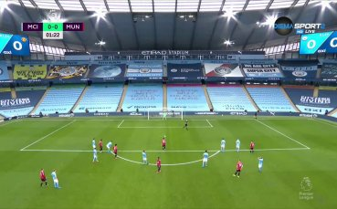 Манчестър Сити - Манчестър Юнайтед 0:1