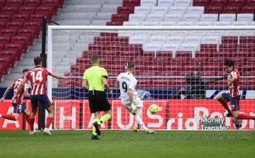 Без победител в дербито на Мадрид, Бензема се завърна с гол
