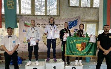 Шампионите от държавното по кикбокс завоюваха 12 медала