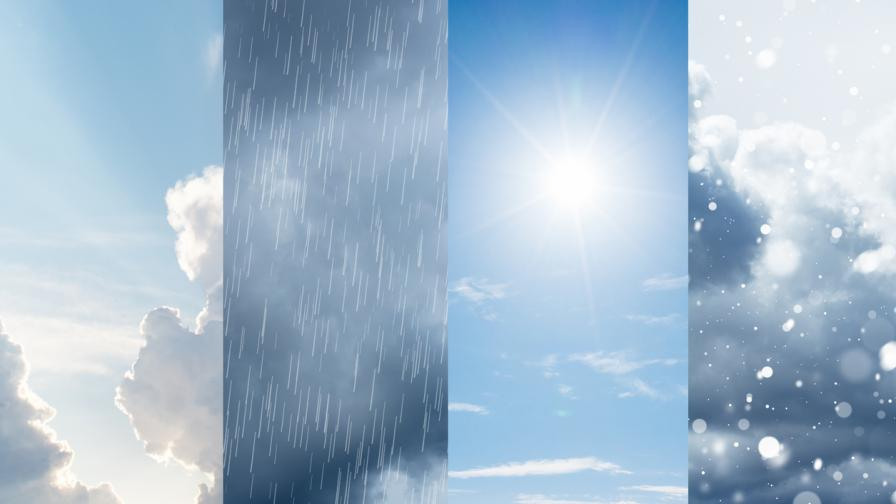 Слънчево днес, идват студ и сняг
