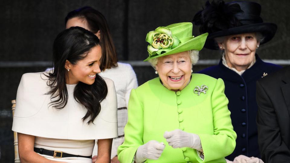 меган маркъл кралица елизабет
