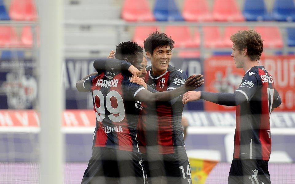 Отборите на Болоня и Сампдория играят при резултат 2:1в пореден