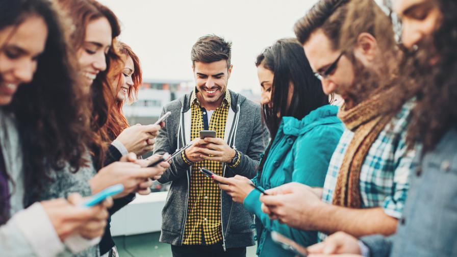 Хората и смартфоните