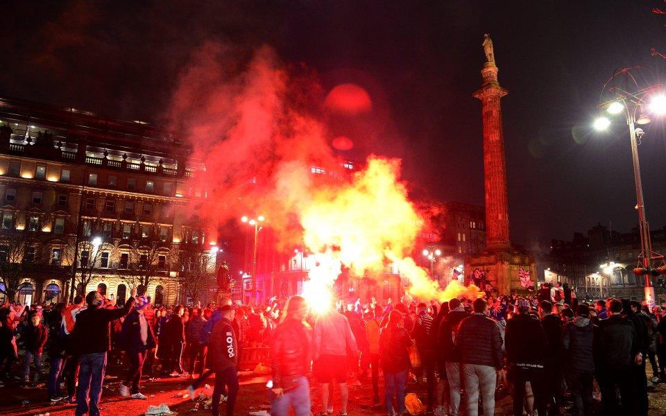 Полицията в Глазгоу предупреди феновете на местните грандове Рейнджърс и