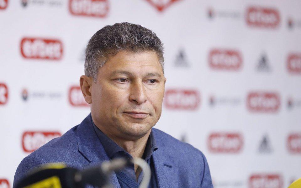 Главният мениджър на ЦСКА 1948 Красимир Балъков напуска клуба. Легендата