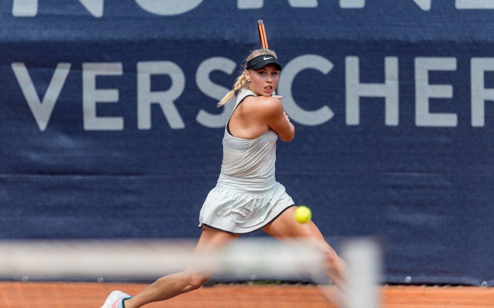 Фани Щолар е една от най-красивите тенисистки, които се изявяват