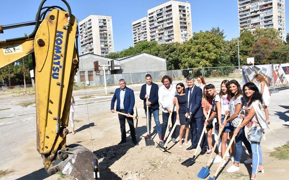 Новата зала в Пловдив отваря врати през лятото