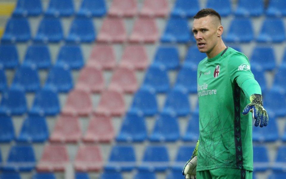 Вратарят на националния отбор на Полша и съотборник на българския