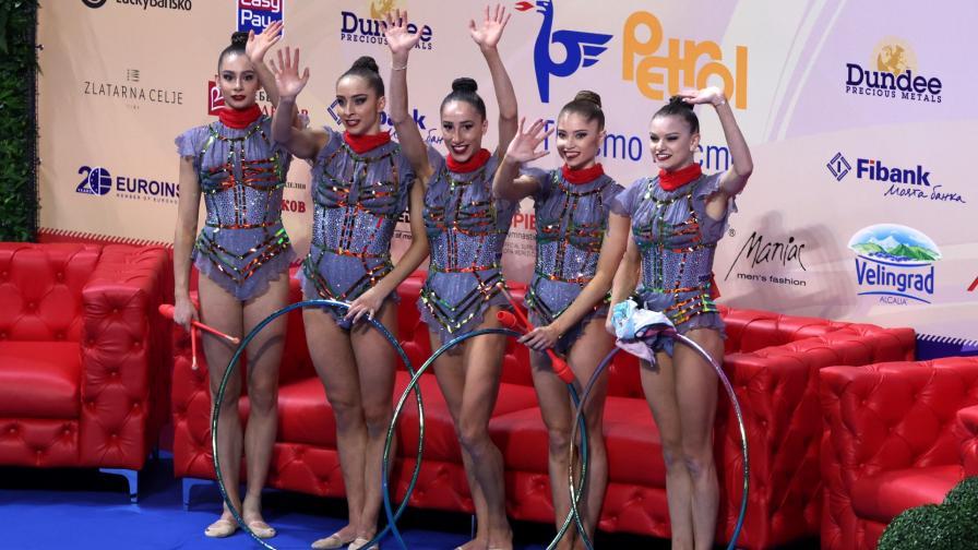 Ансамбълът ни по художествена гимнастика