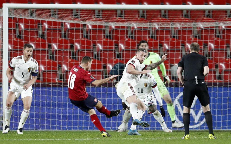 Отборите на Чехия и Белгия завършиха при резултат 1:1 мача