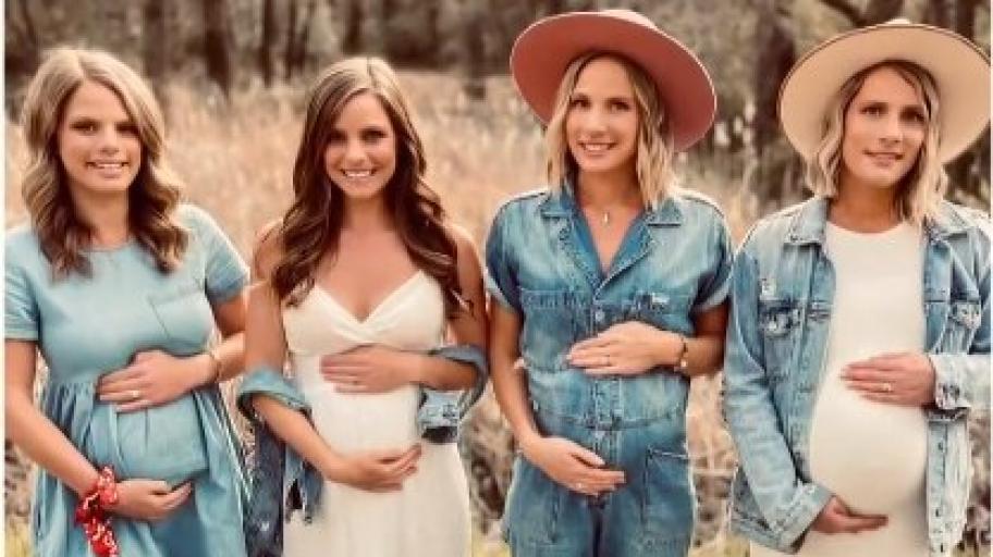Истинско чудо: историята на четири сестри, които са бременни по едно и също време