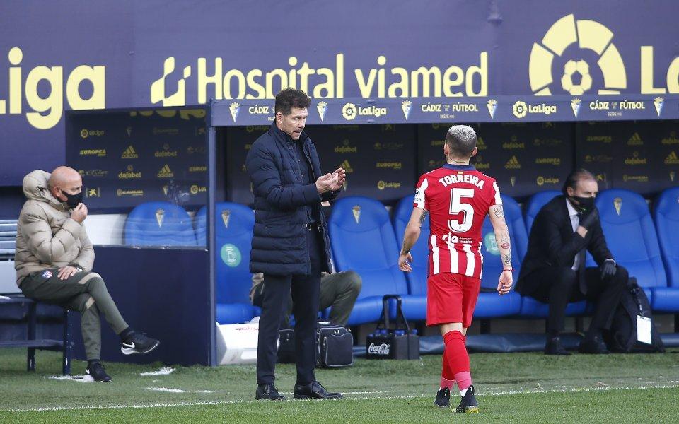 Халфът на Атлетико Мадрид Лукас Торейра изрази желанието си да