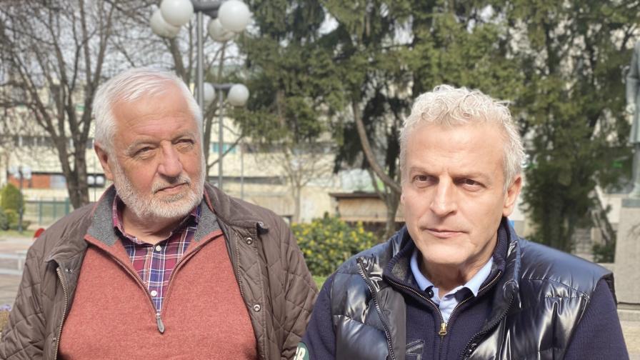 Любомир Канов и Петър Москов