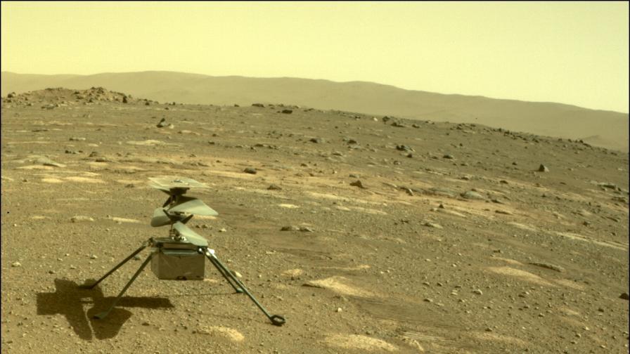 Марсианският хеликоптер с втори, по-сложен полет