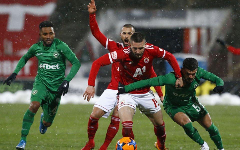 Отборите на ЦСКА и Лудогорец се изправят един срещу друг