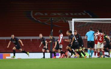 Корави чехи шокираха Арсенал в добавеното време
