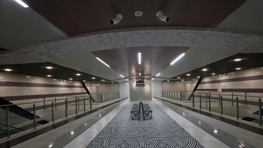 Вижте новите станции на метрото в София