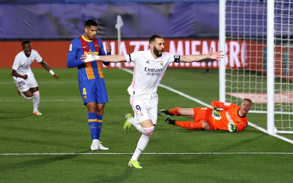 """""""Ел Класико"""" не разочарова! Отборите на Реал Мадрид и Барселона"""