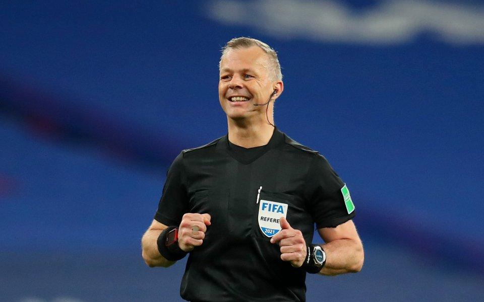 От УЕФА обявиха съдиите, които ще ръководят реваншите в четвъртфиналите