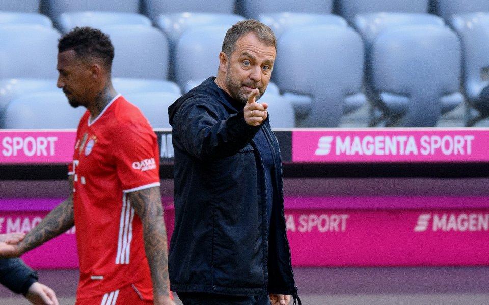 Треньорът на Байерн Мюнхен, ХансФлик, е уверен в силата на