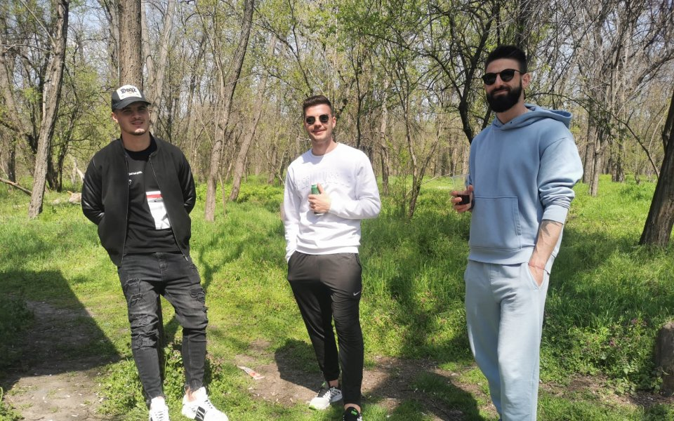 Спортно-техническият щаб и футболистите на Локомотив Пловдив си организираха тиймбилдинг