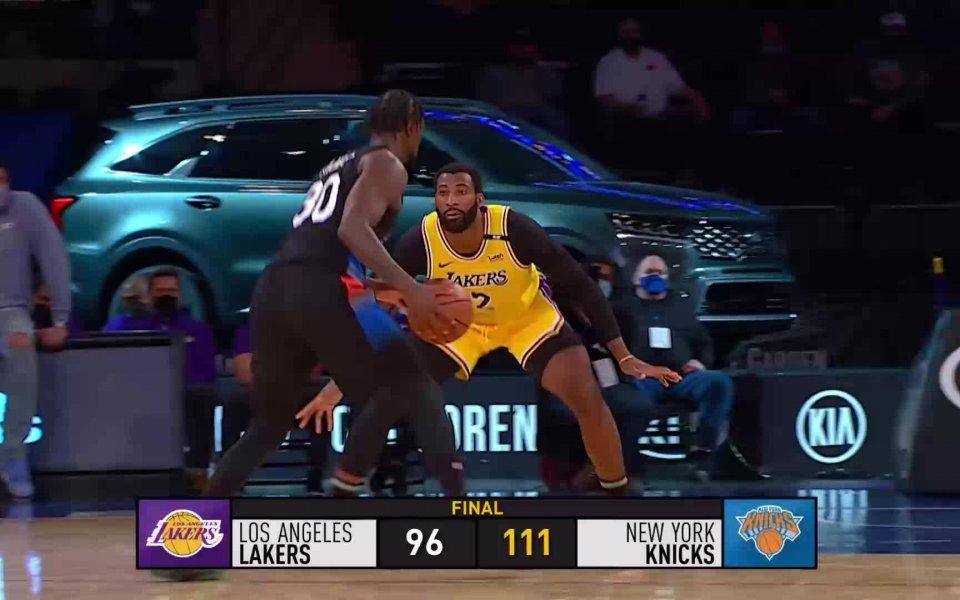 Вижте всичко най-интересно от мачовете в НБА през изминалата нощ.