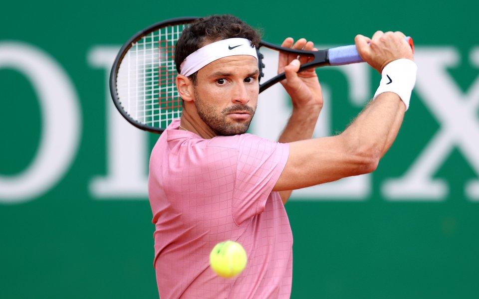 Най-добрият български тенисист Григор Димитров е отказал заявката си за