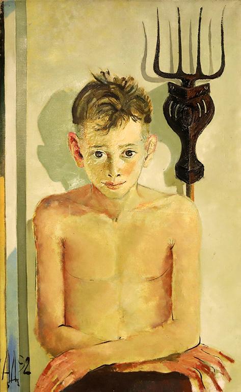 <p>Портрет на Санди, 1992 г.</p>
