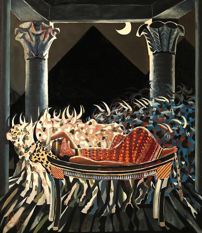 <p>Сънят на фараона (Фараонът сънува 14 крави), 2007 г.</p>