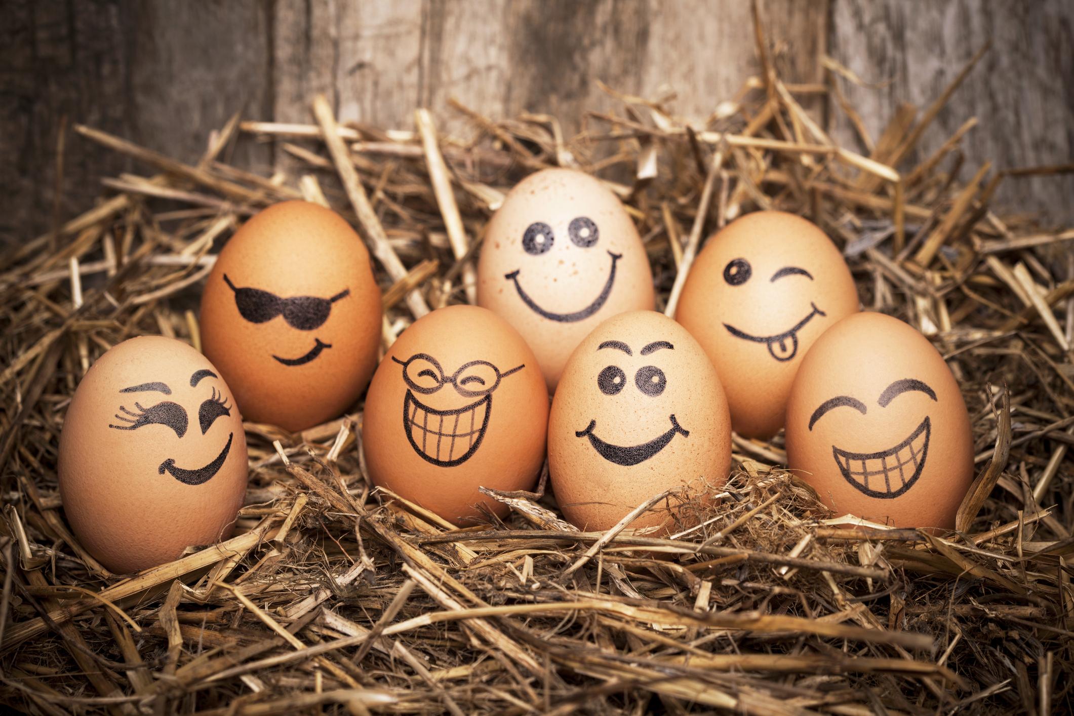 <p>Старо еврейско суеверие гласи, че консумирането на яйце с два жълтъка ще ви благослови с много деца. В Европа по-суеверните земеделски производители &bdquo;засаждат&ldquo; яйца в своите полета или хвърлят яйчени черупки между редиците на културите, за да си осигурят добра реколта.</p>