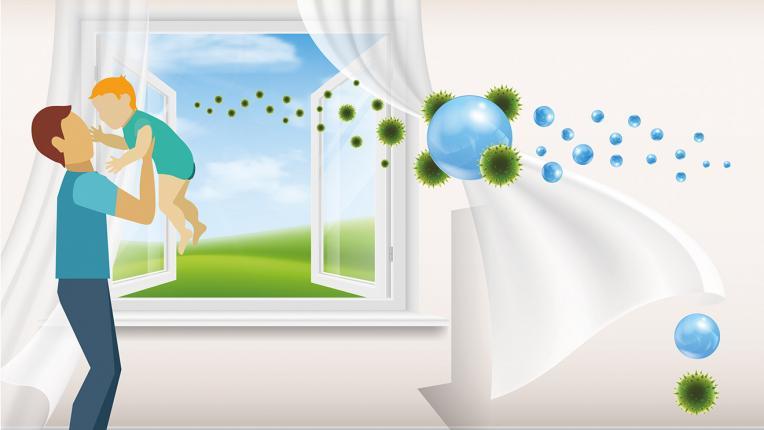 Как да увеличим йоните във въздуха у дома