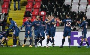 Арсенал разби на пух и прах мечтите на Славия Прага