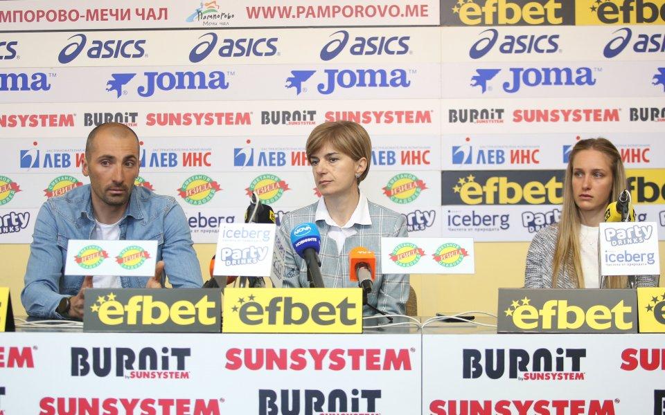Президентът на Българската федерация по биатлон Екатерина Дафовска определи изминалия