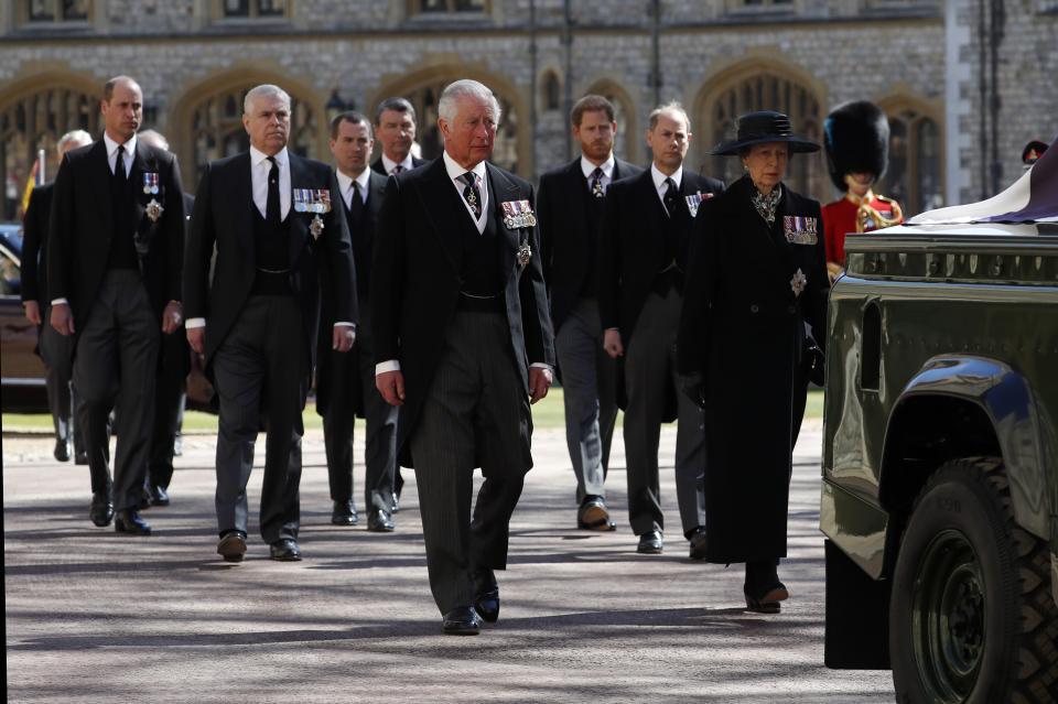 погребение принц Филип