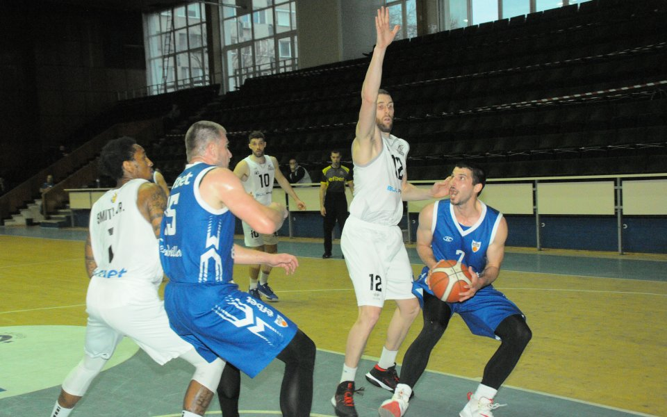 Черноморец Бургас завърши редовния сезон на Националната баскетболна лига (НБЛ)