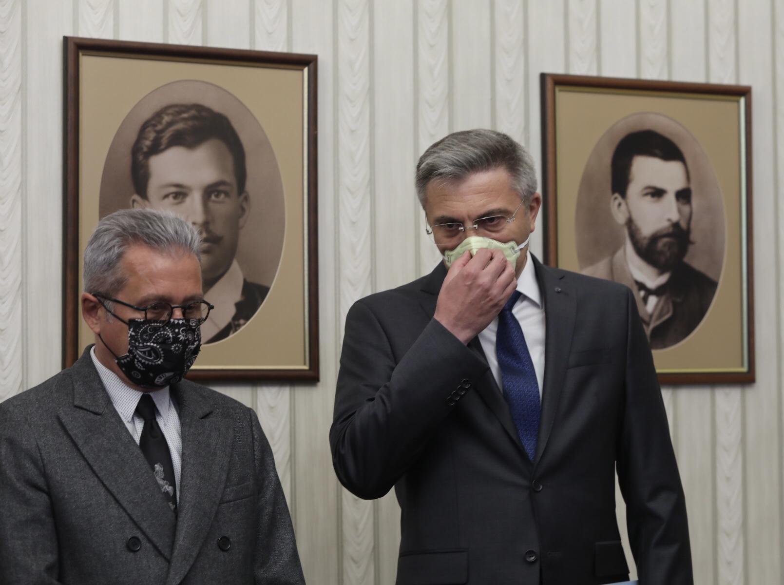 <p>Консултации на президента Радев с ДПС</p>