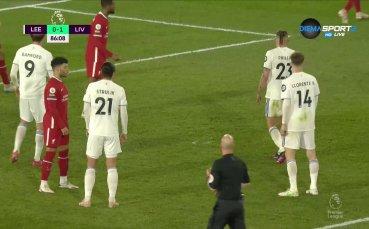 Лийдс Юнайтед - Ливърпул 1:1 /репортаж/