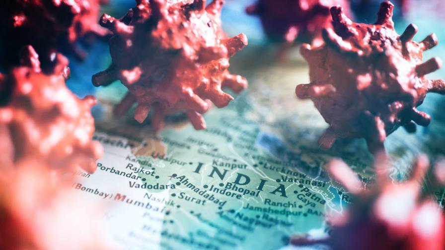 COVID-19: Индия регистрирa повече от 4000 починали