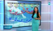 Прогноза за времето (23.04.2021 - обедна емисия)