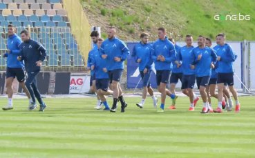 Левски се готви усилено за мача с ЦСКА