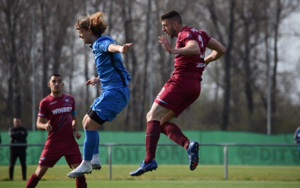 Септември U19 с хикс срещу борещия се за титлата Левски