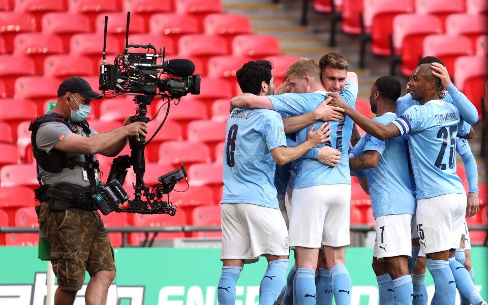 Отборът на на Манчестър Сити успя да надвие Тотнъм с1:0във