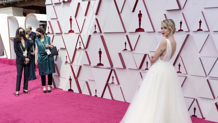 """Мария Бакалова на наградите """"Оскар"""""""