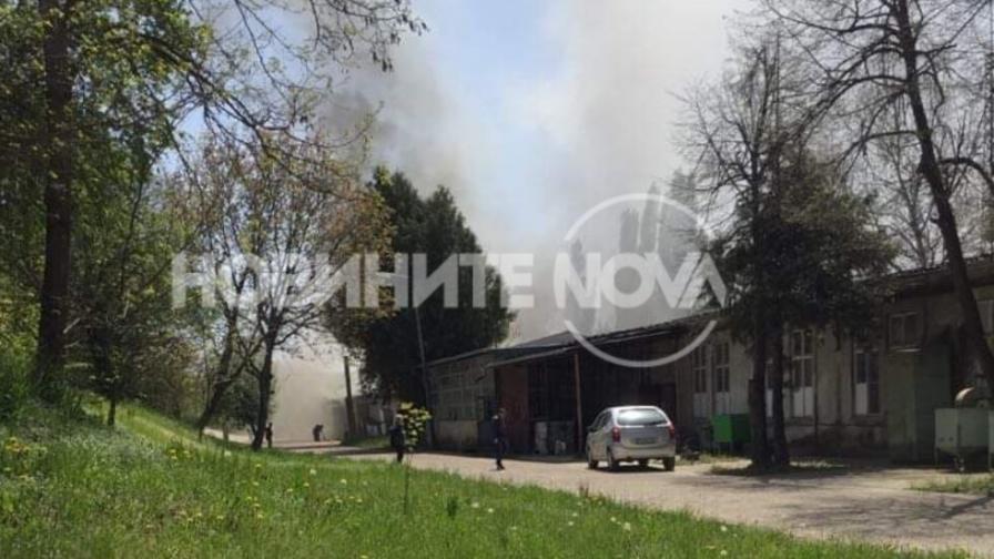 "Пожар пламна във военния завод ""Аркус"" край Лясковец"