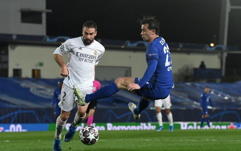 Агонията за титулярниядесен краен бранител на Реал Мадрид Даниел Карвахал