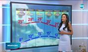 Прогноза за времето (29.04.2021 - централна емисия)