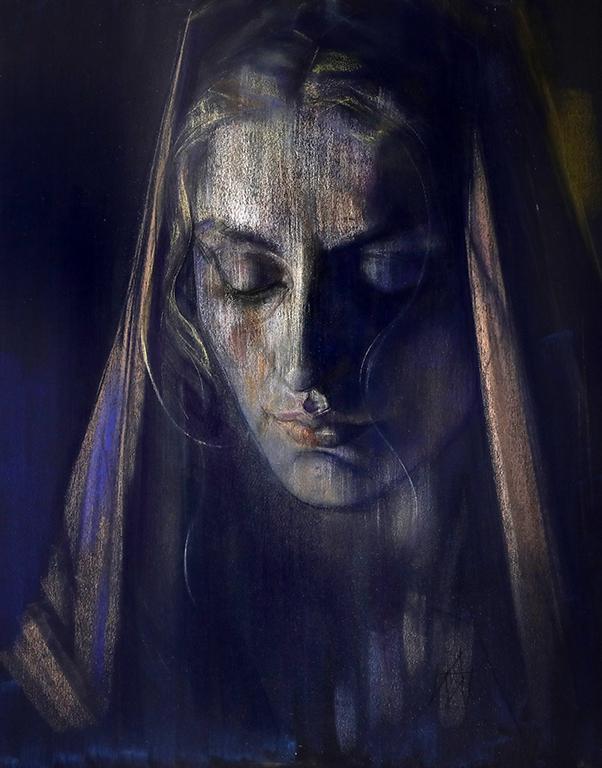 <p>В състоянието на тъга в пластиките на Хари Арабян - в серията портрети, в безжизненото тяло на Спасителя при Свалянето от Кръста, в &bdquo;Стъпките&ldquo; на Йоан Кръстител, в експресията на &bdquo;Слепците&ldquo; по Брьогел и в полета на Нике.</p>