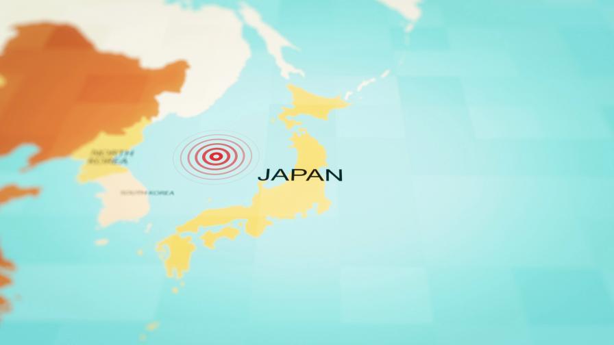 Силно земетресение в Япония, ранени