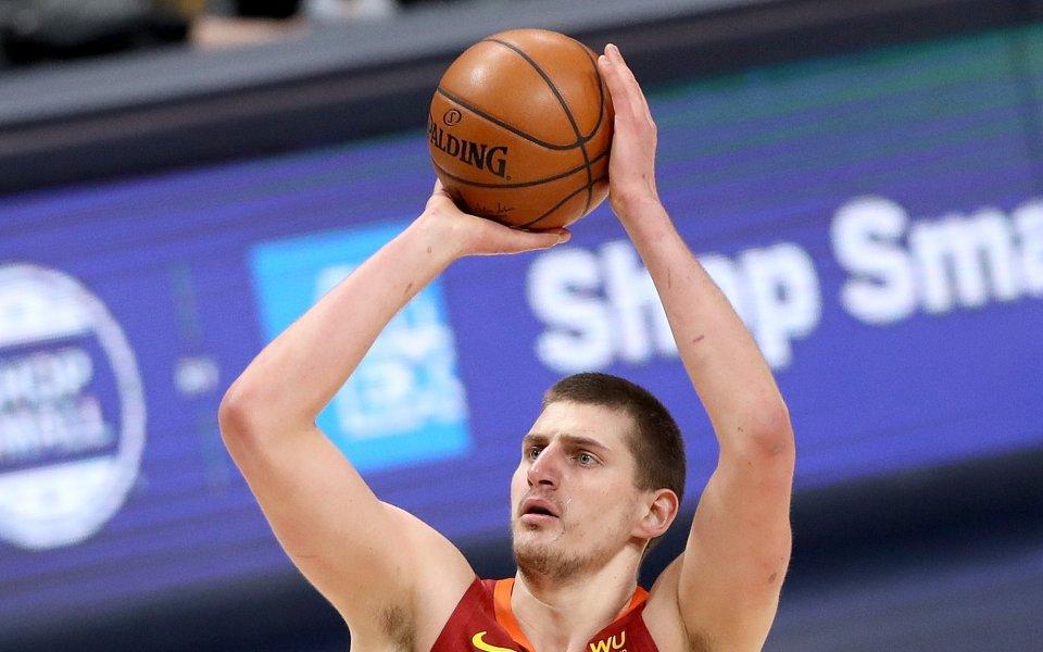 В доста интригуващ мач от тази нощ от НБА Денвър