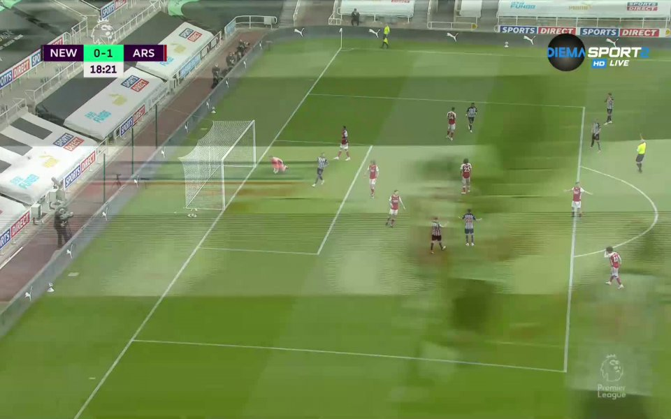 Нюкасъл и Арсенал се оттеглиха при 0:1 в мач от